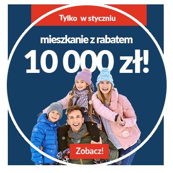 Mieszkania z rabatem 10 000 zł!